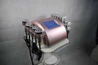 6 в 1 РФ Машины для похудения с Льим лазером + двенадцать полярной Кавитация + вакуум + Биполярные Шесть полярных РФ + Три полярных весами уменьшить машины