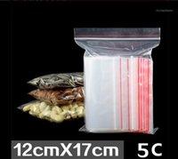 저장 가방 5C 두꺼운 4 * 6cm 작은 플라스틱 쥬얼리 미니 지퍼 지퍼 잠금 가방 재구성 가능한 맑은 폴리 가방 1