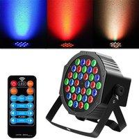 36W 36-LED RGB RED / AUTO / SOUND CONTROL CONTROL CONTROL DMX512 Высокая яркости Освещение Мини DJ Бар Party Высококачественная сцена Скидка Скидки