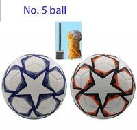 Nuevo 2021 de fútbol Tamaño 5 bolas de alta calidad, antideslizante partículas, libre de calidad superior Entrega