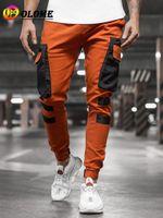 Мужские брюки мужские карандашные спортивные штаны случайные пробежки брюки мода 2021 середина тощей полнометражный спорт