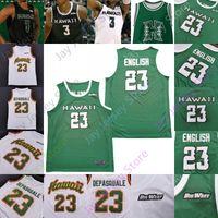 Hawaii Basketbol Jersey NCAA Koleji 3 Eddie Stansberry 1 Drew Buggs 32 Samuta Avea 14 Zigmars Raimo 44 Dawson Carper 2 Justin Webster