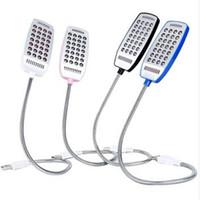 Studente USB Lampada a LED a quattro colori Studio Accessori camera da letto Mini Small Desk Lamps 28 Lights False Switch di alta qualità 4 2SL J2