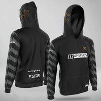 Esports فريق fnatic هوديس البلوز لعبة لول csgo dota 2 برو لاعب مخصص هوديي الرجال النساء أزياء الطباعة البلوز معطف