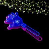 CLAPPER LED FLIVE DE LA CELLEMENT PROJET DE LA COULEUR DE COULEUR CLAP Mains Toys Luminescence Fluorescence Palm Palm Hand Beat Usine Vente directe 1 3CT P1