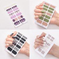 Fashion Nail Art Sticker polacco modello multi creativo 3D Stereo manicure della decorazione Decal stampa a caldo Nails Art Stickers 0 7ss L2