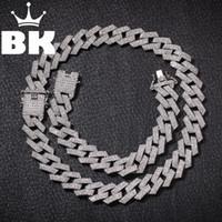 Nova cor 20mm Cubana Link Chains Colar Moda Hiphop Jóias 3 Relógios de Relógios Gelado para Homens T200113
