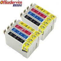 Kompatible Tinte T0711 bis T0714 für Büro B40W BX300F BX310FN Stylus D78 D92 D120 DX4000 SX209 DX4450 SX115 S21 Drucker1 Kartuschen