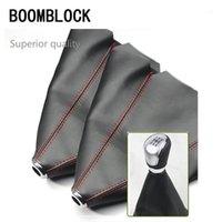 Autres accessoires intérieurs Boomblock Véritable Cuir Carbon Bouton de carrosserie Couverture pour MEGANE 2 3 DUSTER LOGAN 2006-2011 FIT1