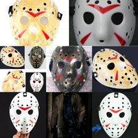 Убийца Джейсон Маска Защитная Лицо CS Cosplay Freddy Mask Мужчины Женщины Детей против пленки Тема Череп Массы Партия Хэллоуин Праздничная SUW1