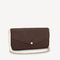 Coleção inteira de mulheres envelope mutiple 3 em uma corrente sacos epi ondulações de couro imprimido couro lustroso couro revestido bolsas de lona