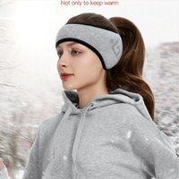 Unisexe solide hiver caoutchoucs femmes hommes oreille couverture protecteur mode épaissie peluche accessoires de cavalier chaud doux DDA709