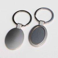 10x lege metalen sleutelhangers gepersonaliseerde foto sleutelhangers aangepaste foto sleutelhangers ovale vorm KP01Y gratis verzending