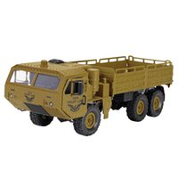 JJRC Q75 1:16 2.4GHz Radio Militar Carro off-Road Rock Rock Veículos RC Carro RC Controle Remoto Brinquedos Modelo RTR Versão Presente
