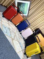 Newset Travel Usygothy Suitcase Juste Note Couleur Aluminium 20inc PC PC Boîte de tige universelle Roue de haute qualité Sacs Duffel à roues de fleur Horizon de fleur
