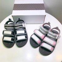 Sandales Chueyz Enfants Boy Girls Fashion Student Véritable Cuir Enfants Plage Non-Slip Casual Flat Confortable