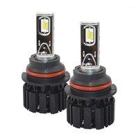 Phare de voiture Ampoules P9 Ampoule de phare LED 9007 H4 H4 H7 H11 3 9006 9012 6000K Lampes d'automobiles super lumineuses 100W 13600LM HeadLamp1
