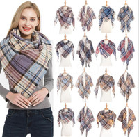 fashion Plaid Scarves Girls scarf women Shawl Grid Oversized...