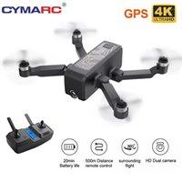 Drohnen Cymarc W13 DRONE 4K HD Doppelkamera Folgen Sie mir GPS Quadcopter FPV Professional bürstenlos RC Hubschrauber VS SG907 SG906 Pro1