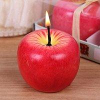 عشية عيد الميلاد الإبداعية هدية شمعة الفاكهة محاكاة شمعة عيد الميلاد هدية الديكور