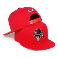 Top Kapaklar Maskeli Ayarlanabilir Beyzbol Şapkası Moda Hip Hop Sokak Dans Erkekler Ve Kadın Evrensel Şapka Açık Spor Düz Şapka1