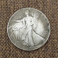 American 1816 Blanco Cobre Moneda de plata Colección de monedas de plata extraña Moneda antigua puede soplar 38 mm de diámetro