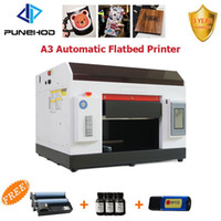 Punehod UV 프린터 A3 크기 5760 * 1440DPI 전화 케이스 인쇄 기계 용 플랫 베드 프린터