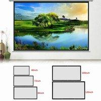 Écrans de projection 120Inch-60inch 3D HD HD Screen Screen Screen Screen Projecteur LED pour Home Theater Screen1