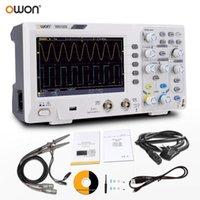 Owon SDS1202 Osciloscopio digital 2 canales 200MHz ancho de banda 1GSA / S 7 '' Pantalla LCD de mano Pantalla portátil USB almacenamiento osciloscopios