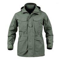 Chaquetas para hombres M65 Camuflaje Masculino Ropa EE. UU. Ejército Táctico Hombres Cortavientos Hoodie Campo Chaqueta Outwear Casaco Masculino1