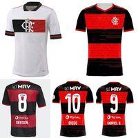 20 21 CR Flamenko Futbol Formaları 2020 2021 Flaman Guerrero Diego Vinicius Flamengo Gabriel B Erkekler Futbol Gömlek