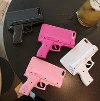 3D Gun Şekli Sert Telefon Kabuk Kılıf Kapak iphone 12 12mini 12pro 12 Pro Max 11Pro Max X XS XR Max 5s 6 6 S 7 8 Artı