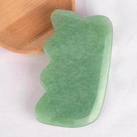 Natural Adventurine Jade Massage Tool Dongling Guasha Board Gua Sha Facial Treatment Natural Jade Stone Scraping Care Healthy Tool