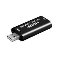 Scheda di acquisizione video 1080P HDMI a USB video grabber casella discussione per PS4 gioco DVD Camcorder HD Camera registrazione registrazione live streaming