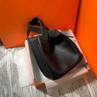 2021 Tek Omuz Tote Kova Lahana Sepeti Moda Çanta Taşınabilir Düz Messenger Çanta
