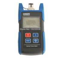 Faseroptikausrüstung TL510A -70 ~ + 10DBM oder TL510C -50 ~ + 26 dBm Optisches Leistungsmesser mit festem SC-Anschluss
