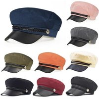 2020 Wandern Caps Frauen Winter-Weinlese Plain Hut Baskenmütze Mädchen Wolle warme Winter Hut Baskenmütze Femme Caps Lady Solid Color Slouchy
