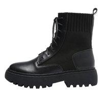 Cevabule inverno tornozelo botas mulheres novas botas mulheres estilo britânico thinzinho thinzelo tornozelo tamanho grande tamanho 41-43 yzx-1851