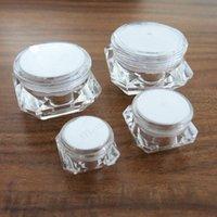 네일 아트 글리터 50는 X 5g 10g 15g 30g 플라스틱 용기 투명한 플라스틱 냄비 미니 작은 화장 크림 화장품 용기까지