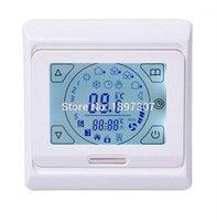 M9.716 (E91.716) Цифровой терморегулятор сенсорный экран термостат для теплой системы отопления системы температуры контроллер термостат1