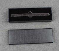 أسود الأعمال القلم مربع مكتب القرطاسية هدية صناديق القلم التعبئة حمل صناديق الحزمة بالجملة