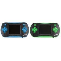 2 Pièces RS-16 2.5 \ « \ » LCD 260 Jeux Handheld Console de jeux vidéo Lecteur avec Câble AV pour les enfants anniversaire de cadeau de Noël bleu + vert