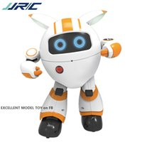 JJRC R14 التحكم عن بعد مرافقة الروبوت، لعبة التعليم المبكر الغناء الرقص وتخبر قصة، قابلة للبرمجة، عيد الميلاد كيد هدية