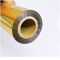80m / rotolo oro argento timbro caldo stampa rotoli di carta per laminatore di laminazione del calore trasferimento sulla stampante laser card fai da te cra jllnyg