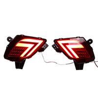 Luz de aviso de freio traseiro para 2013 - 2016 Mazda CX-5 LED Luz de freio dia de corrida luzes DRL nevoeiro
