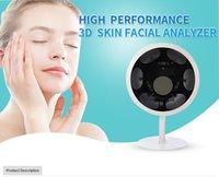 bserv 520 الوجه محلل الجلد استخدام صالون سبا RGB / UV / PL / RED / براون / Darkspot تحليل الوجه آلة اختبار الجلد الجهاز