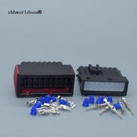 shhworldsaea 16 pin 2,8mm auto weiblicher männlicher wasserdichter kabel harness automotive stecker auto ecu stecker 1-964449-1 1-965427-1