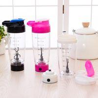 أتمتة كهربائية بروتين شاكر خلاط bpa الحرة زجاجة المياه البلاستيكية التلقائي حركة القهوة الحليب الذكية خلاط drinkware DBC VT0366