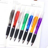 Penna spray penna a sfera Plan in plastica spray profumo a sfera a sfera dell'alcool penna spray 7 colori forniture per ufficio 2 O2