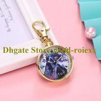 Wholesale unissex feminino relógio de bolso colar acessórios camisola cadeia senhoras pendurado mens quartzo meninas relógios de médio porte a00021